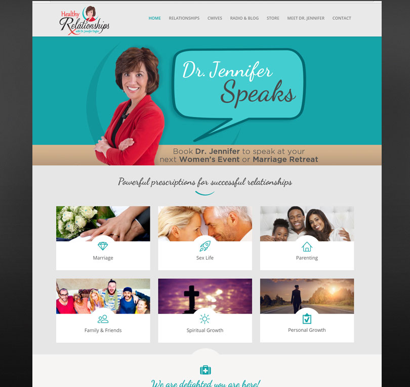 Healthy RelationshipsRx Website