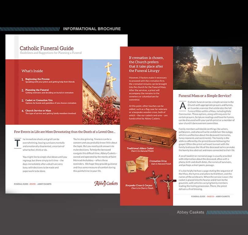 Abbey Caskets Promotional One-Sheet
